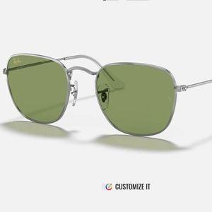 Ray ban frank legend silver/green shades